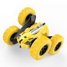Kinder 360 ° Drehen Stunt Auto Modell RC 4WD Hohe Geschwindigkeit Fernbedienung Off road Spielzeug