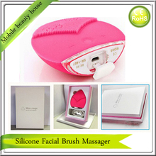 USB Rechargeable Mini Handheld Ultrasonic Deep Pores Cleaning Anti Acne Facial Cleansing Brush Cleaner Skin Vibration Massager