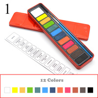12 colors Red