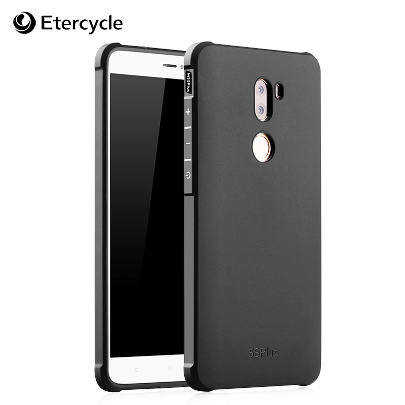 For Xiaomi Mi 5S Plus Case Cover Shockproof Back Cover Matte Smooth Coating Soft Phone Case for Xiaomi Mi5S Plus mi5 s