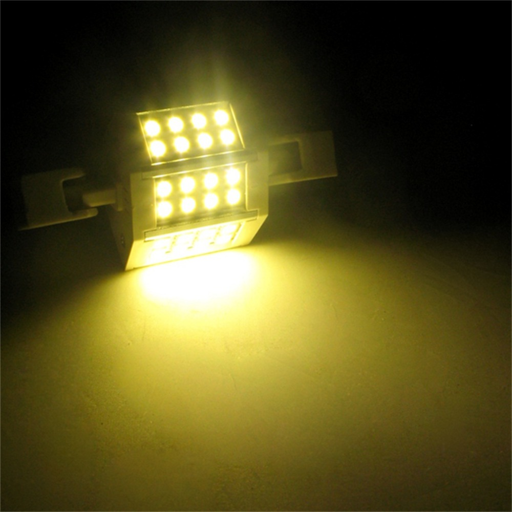 R7s 5W 24 SMD5050 78/118mm Dimmable Light Bulb Floodlight Warm New Super Deal! Inventory Clearance