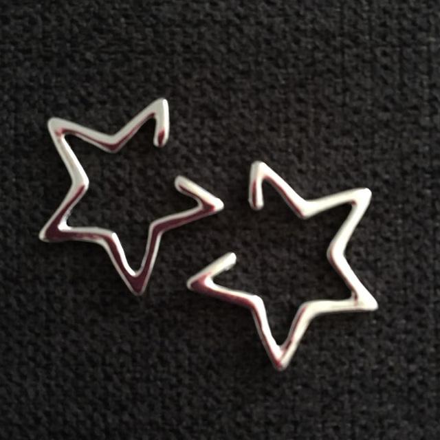 Simple Geometric Star Earrings