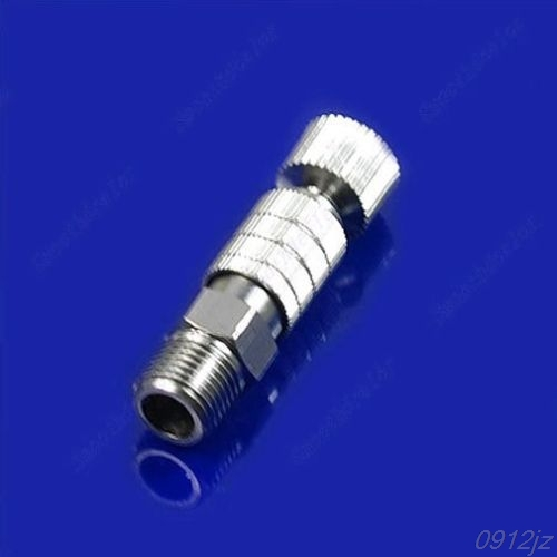 1PC Airbrush Quick Disconnect Release Coupling Adapter Connecter 1/8'' Fittings Part #319