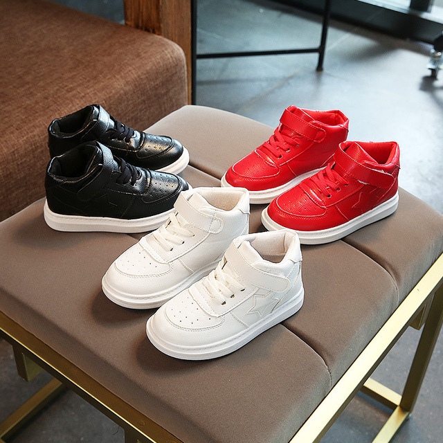 2018 New Children's Shoes Spring Autumn Boys Girls Breathable Comfortable Leisure High Quality Kid Anti-Slippery Sport Shoes 3
