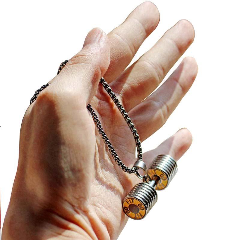 Չժանգոտվող պողպատ զամբյուղի կախազարդ - Նորաձև զարդեր - Լուսանկար 5