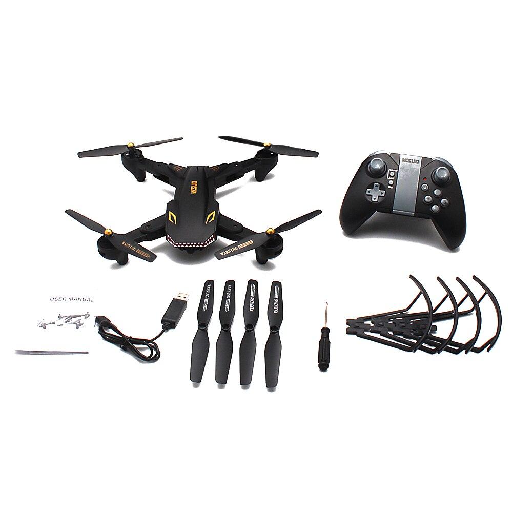 Enfants WIFI vidéo télécommande HD caméra hélicoptère jouets quadrirotor grand Angle Drone pliable RC
