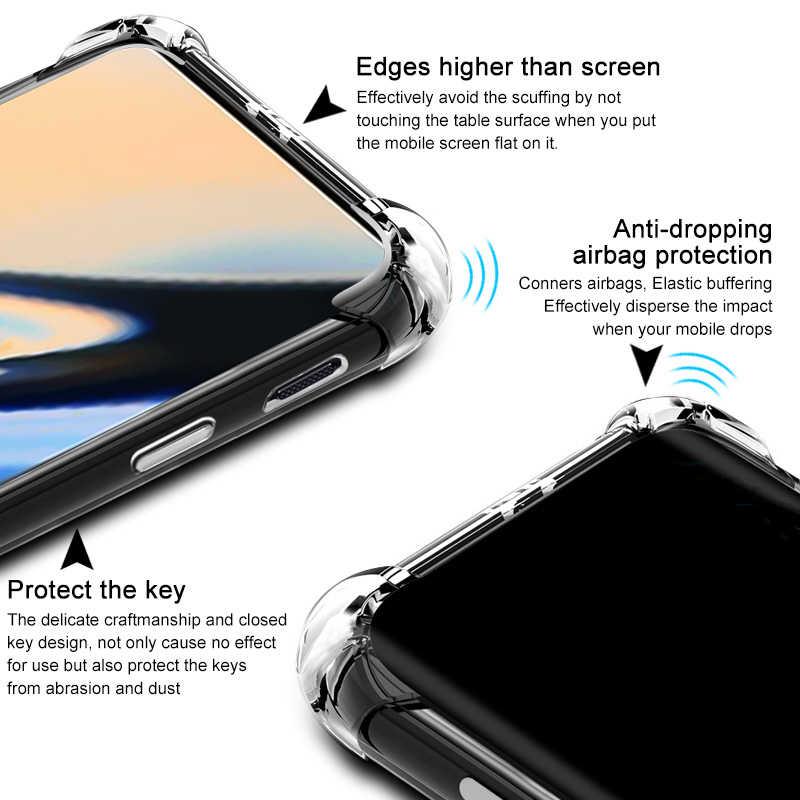 Olhveitra OnePlus 7 7T Pro 8 kılıf yumuşak TPU silikon darbeye şeffaf kılıf OnePlus 6 için 6T 5 5T 3 7 7T 8 Pro kapak çantası