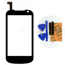 Black TP for Gigabyte GSmart Tuku T2 4.0″ Touch Screen Digitizer Glass Panel Sensor No LCD Replace Part Free Shipping+Tools