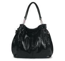 2017 Luxury Brand Designer Women Bags Genuine Leather Handbags Snakeskin Women Messenger Bags Ladies Crossbody Bags