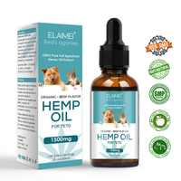 Hemp Essential Oil for Dogs Natural Herbs of Pet Care Oil Anxiety Relief Pain Joint hip Strengtheens immunity