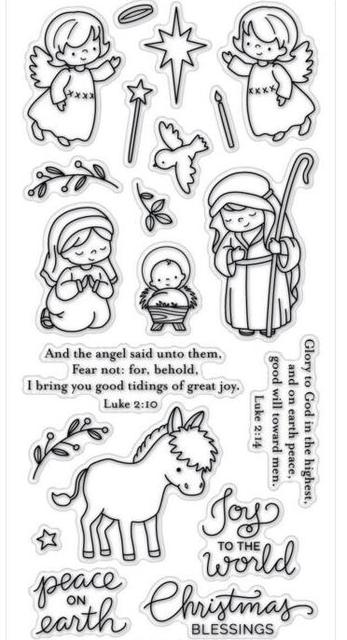 Angel Transparent Clear Silicone Stamp Seal DIY Scrapbooking Photo Album
