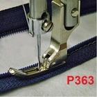 3PCS Industrial sewing machine sewing machine presser foot flatcar presser zipper foot toothpick thin steel presser foot P363