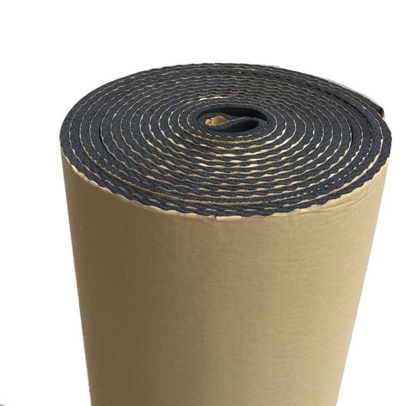 5MM*50CM*200CM Car Truck Firewall Soundproof Cotton Insulation Mat Sound Insulation Car Styling