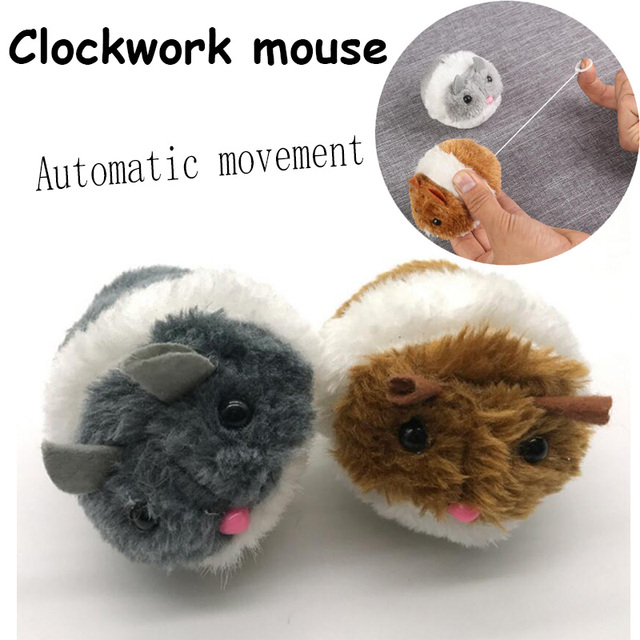 Plush Automatic Movement Little Mouse Pet Cat Cute Toy Chasing Cats Dog Toys Shaky Interactive Mouse Kitten Toy Pet Supplies