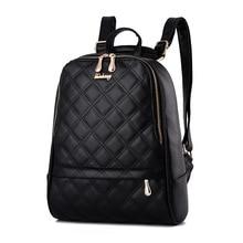 Модные женские туфли рюкзак Mochila Feminina высокое качество Молодежный кожаный рюкзак для девочек-подростков Женский школьная сумка рюкзак
