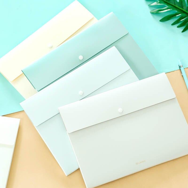 8 Layer Document Bag Expanding File Folder Organizer Folder For Documents A4 Paper