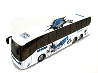 High Simulation Exquisite Model Toys Styling Chinese Tourist Bus Model 1 32 Alloy Bus Model Excellent