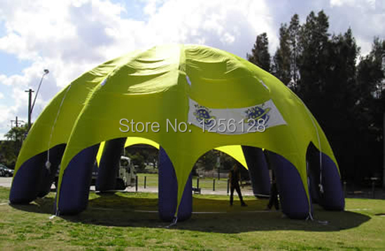Advertising Inflatable 11m Diam Round  Blown Up Tent inflatable cartoon customized advertising giant christmas inflatable santa claus for christmas outdoor decoration