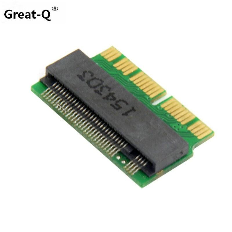 10pcs 64GB 128GB 256GB 512GB M.2 NGFF PCIe x4 SSD for 2013 late MacBook Air A1465 A1466 MD711 MD712 MD760 MD761 adapter card накопитель ssd a data adata ultimate su800 512gb asu800ss 512gt c