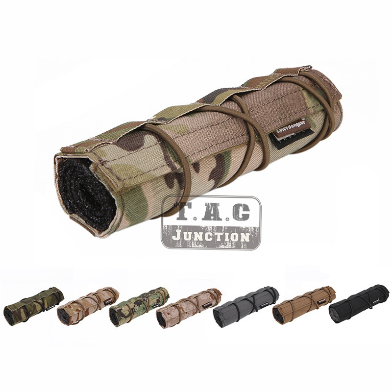 Emerson 18cm Silencer Protective Case Tactical Suppressor Mirage Heat Shield Sleeve Shooting Military Silencer Protective Cover