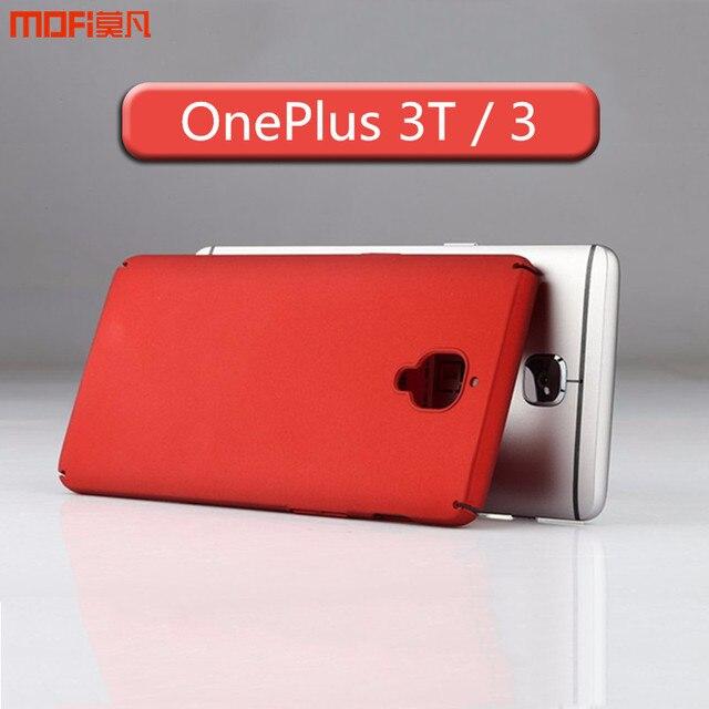 0f02a0aa6cd Oneplus 3T case oneplus 3T cover A3010 MOFi original oneplus 3 A3000  accessories PC hard case back cover capa cuque funda 5.5
