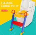 Frog baby toilet seat children toilet training basin potty ladder folding toilet chair plastic children toilet seat