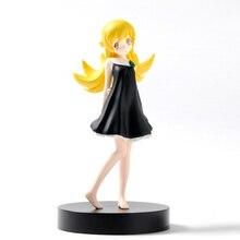 17cm Japanese Anime Bakemonogatari Oshino Shinobu PVC Action Figure Kids Toy цена