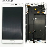 Super AMOLED LCD Display For Samsung Galaxy Note Edge N915 N915F N915FD LCD Display Touch Screen Digitizer Assembly
