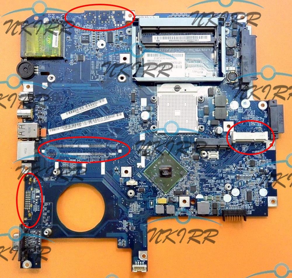 MBAJ702003 Motherboard For Acer aspire 5520G 7220 7520 7520G ICY70 L21 LA-3581P