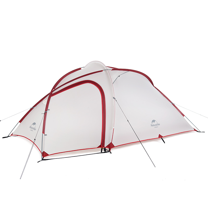 Image 2 - Naturehike Tent 2019 New Hiby Series Camping Tent 20D Silicone Fabric Outdoor 3 4 Persons Ultra light 4 Season Family TentTents   -