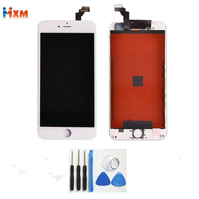 Белый 5.5 ''дюймовый жк-дисплей Для Apple iphone 6 Плюс ЖК-Дисплей С Сенсорным Экраном С Планшета Полный Ассамблеи + Инструменты, бесплатная Доставка