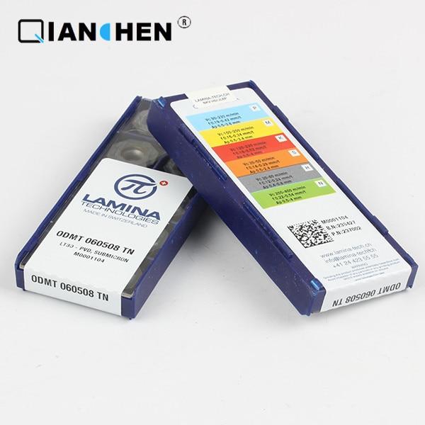 Genuine original high quality high-performance LAMINA ODMT 060508 TN LT30  (10pcs/lot) tungsten Carbide Cutting tools insertsGenuine original high quality high-performance LAMINA ODMT 060508 TN LT30  (10pcs/lot) tungsten Carbide Cutting tools inserts