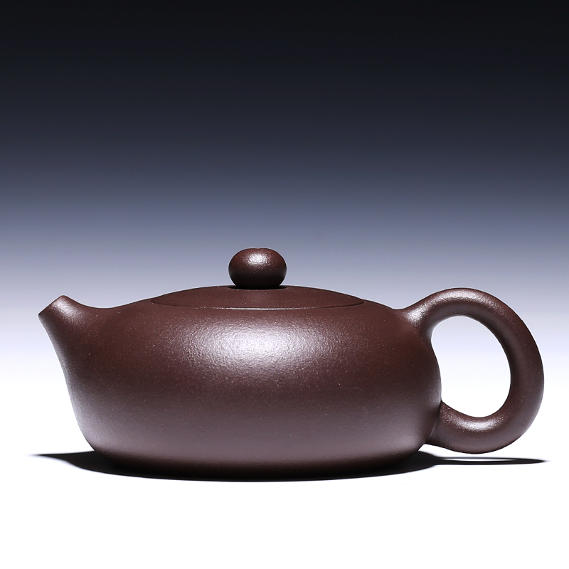 Yixing teapot famous authentic pure hand original purple clay 188 ball Xi Shi teapot gift two