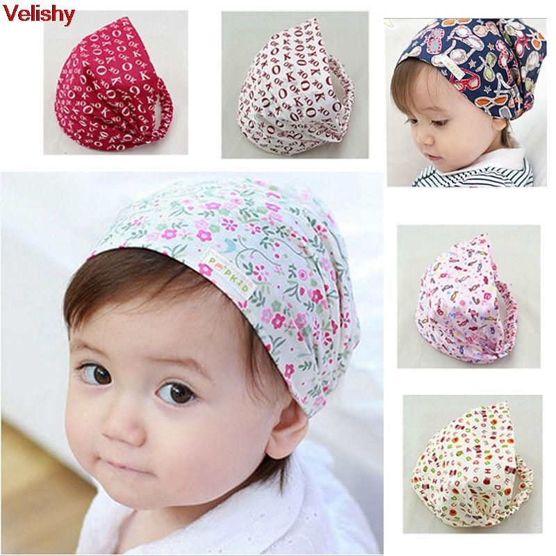 Velishy-Bandana Hats Women Mom Flower Headband Hair Wear Accessories Headscarf Headwears 8 Colors On Sale защитный детский шлем