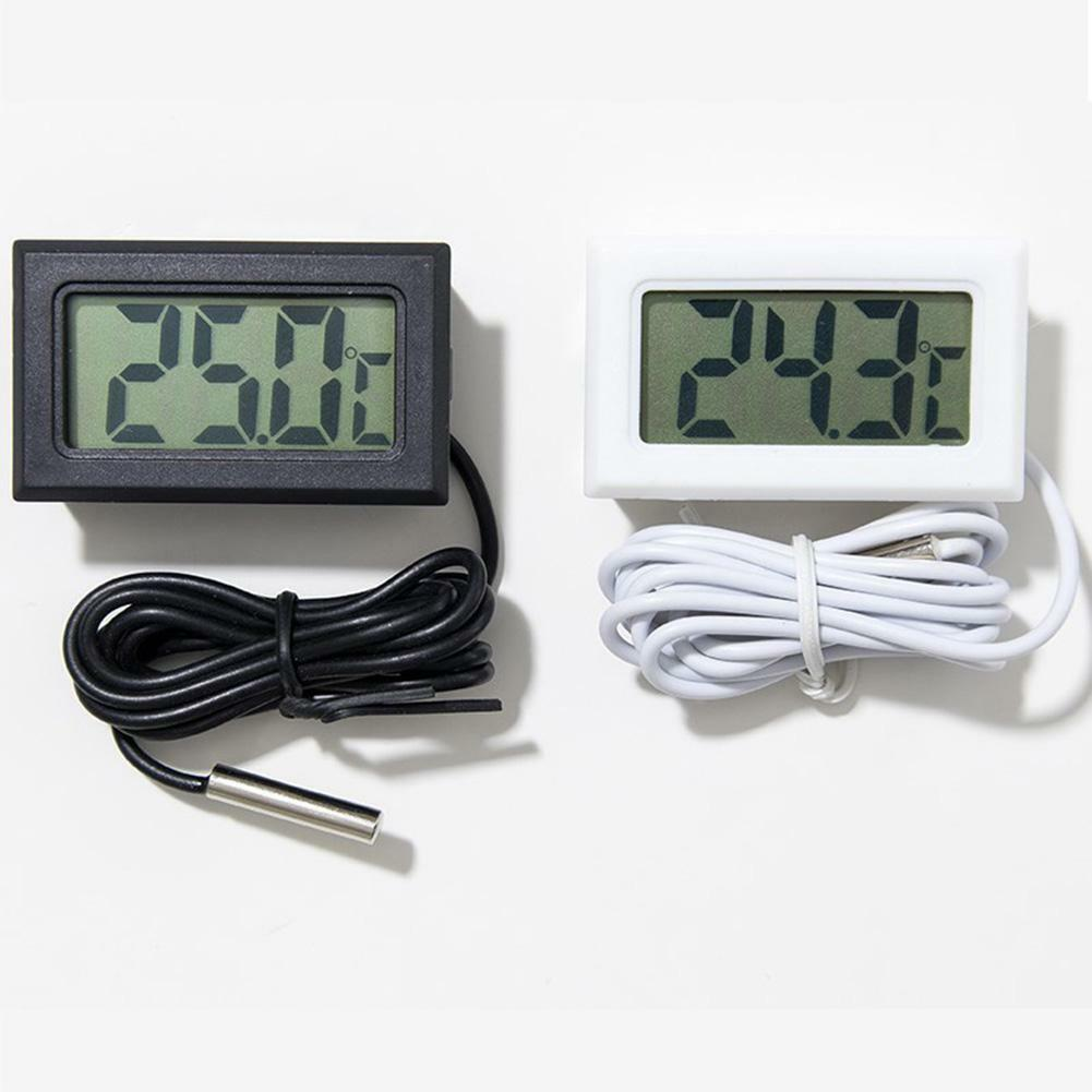 HTB1r9uBX2b2gK0jSZK9q6yEgFXa8 Mini Digital LCD Thermometer Sensor Convenient Hygrometer Gauge Refrigerator Aquarium Monitoring Display Humidity Detector