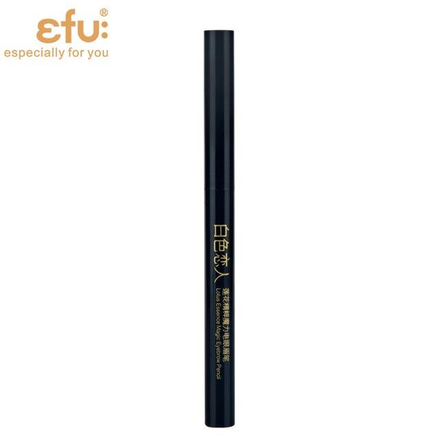 5 Couleurs 24 Heures de Longue durée Crayon À Sourcils Doux Et Lisse Mode Oeil 0.4g Lotus Série Maquillage Marque EFU #7046-7050 3