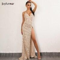 Evening Party Club Elegant Dress 2017 Women Dress Vestidos De Festa Womens Sexy Dresses Gold Sequined