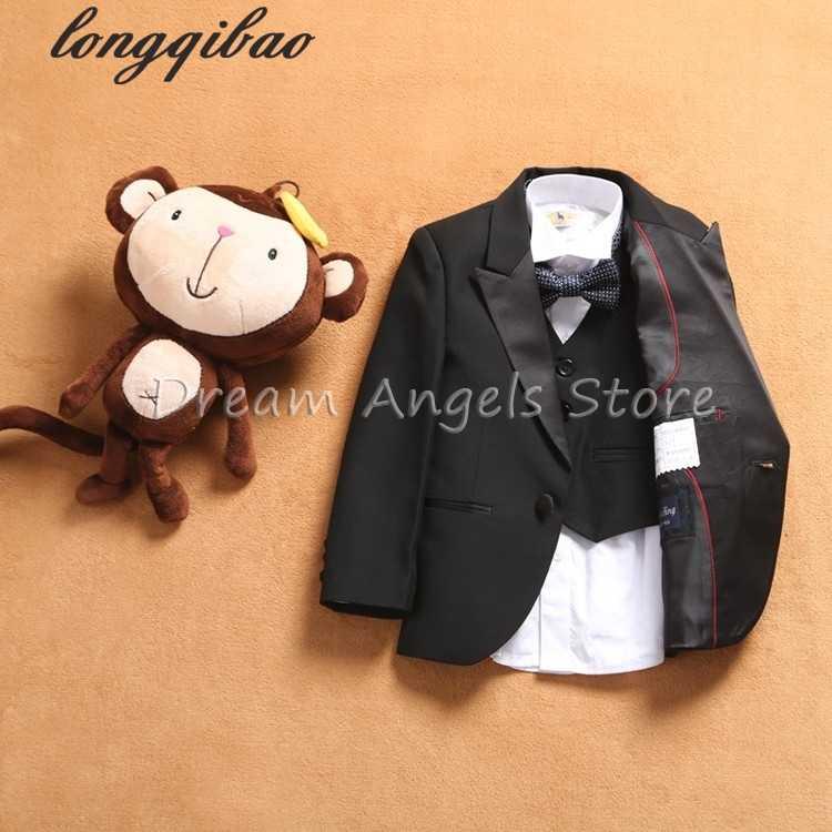 Ücretsiz kargo takım Seti Yeni stil takım elbise erkek takım elbise Slim Fit Damat Smokin erkek Çiçek kız (ceket + pantolon + Yelek + Kravat + papyon)