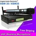 2.4 Г Верно Разнообразие XSW35 Отличное Качество Звука Профессиональная UHF Беспроводная Микрофонная Система Караоке Стадии XSW 35 Микрофон Вокальный Набор