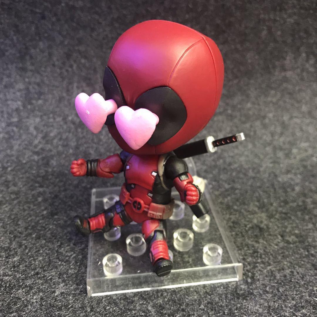 Nendoroid Mini Action Figure – 662  Deadpool Orechan Edition XMAN Super Hero BJD