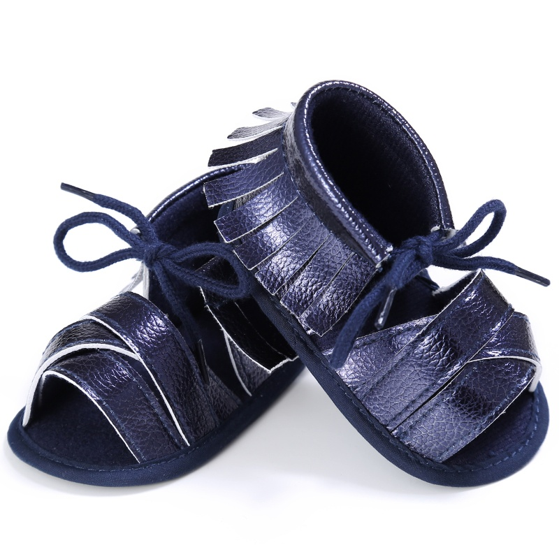 2017 0-18M Baby Girls Toddler Newborn Baby Girl First Walkers Tassel Soft Non-slip Crib Shoes Moccasin