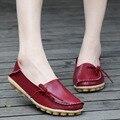 16 Cores Disponíveis Mulheres Flat Shoes Deslizamento Em Loafers das Mulheres Sapatos Da Moda Sapatos Mocassins Calçados Femininos Plus Size 2016 QT179