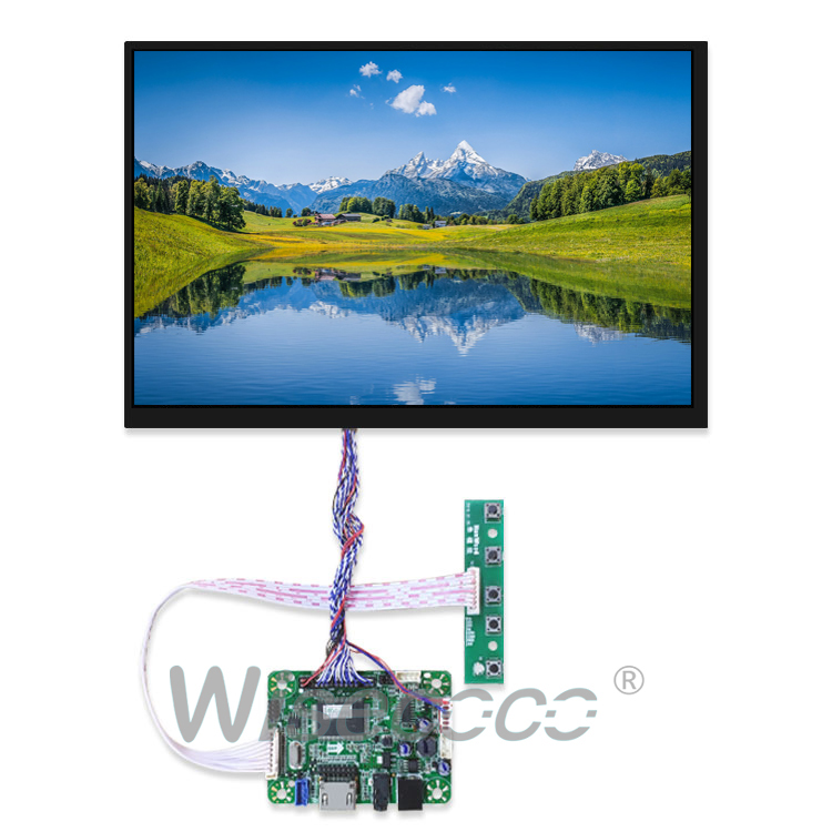 Wisecoco 10.1 Inch 1920×1200 TFT LCD Monitor Screen + Driver Board HDMI LVDS 45Pin for Raspberry Pi 3 / 2 Model B / PC Windows 7