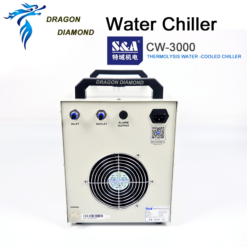 CW3000 Industria Enfriador de agua Máquina de grabado Enfriador de - Piezas para maquinas de carpinteria - foto 4