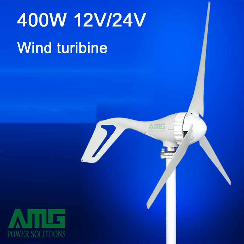 update! 400W 12V/24V 3/5 blades horizontal wind turbine generator home use + BOOST/PWM waterproof wind charger controller wind turbine generator 400w horizontal wind generator 12v 24v windmill come with hybrid controller 600w off grid inverter