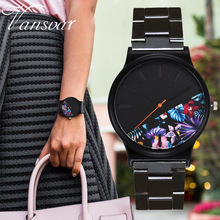 Fashion Watch Women Watches Luxury Bracelet Ladies Flowers Clock montre femme reloj mujer