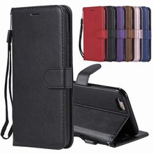 Luxe Leather Flip Case Voor iphone 6 6s Plus Cover Case iphone 6 Plus Wallet Card Slot Stand Telefoon Coque Voor iphone 6 S gevallen(China)