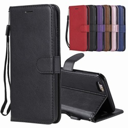 Luxury Leather Flip Case For iphone 6 6s Plus Cover Case iphone 6 Plus Wallet Card Slot Stand Phone Coque For iphone 6 S Cases 1