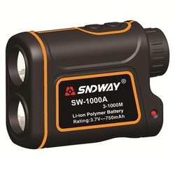 SNDWAY Telescope trena laser rangefinder distance meter 1000M Digital Monocular hunting golf laser range finder tape SW-1000A