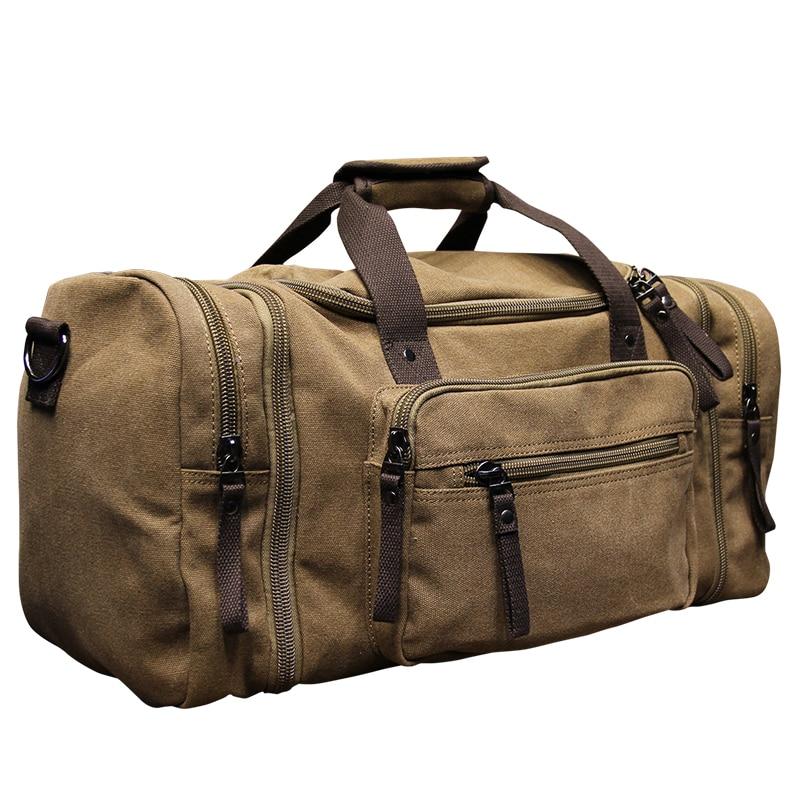 2017 Men Travel Bags Capacity Luggage Travel Duffle Bags Canvas Big Travel Handbag Men Duffel Bags Travel Tote Large Weekend Bag